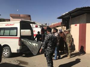 आईएस के हमलों में 3 इराकी सुरक्षाकर्मी की मौत