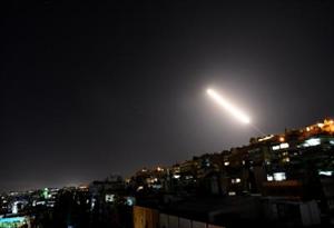 इजराइल ने दमिश्क के पास हवाई हमले किए, सीरिया ने भी दिया जवाब